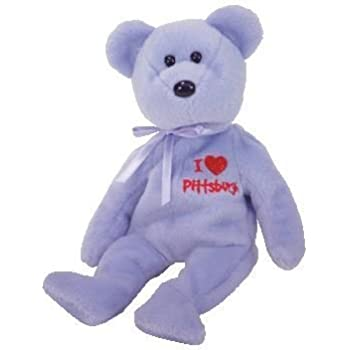 TY Beanie Baby - PITTSBURGH the Bear (I Love Pittsburgh - Show Exclusive) 98703aa95c6e
