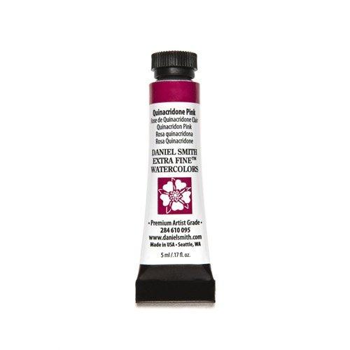 Daniel Smith 284610004Extra Tubo de acuarelas, rosado, (Quinacridone Pink), 5ml, 1