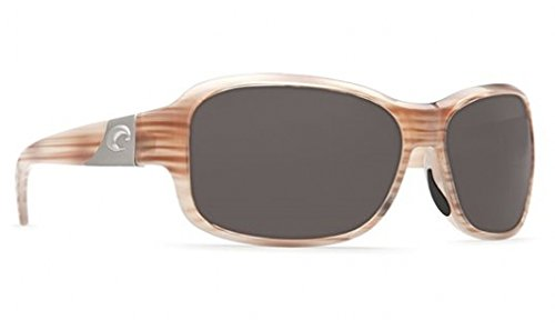 Costa Del Mar Sunglasses - Inlet- Glass / Frame: Morena Lens: Polarized Gray Wave 580 Glass (580 Lens Wave Glass)