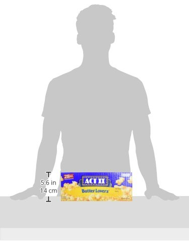 ACT II Butter Lovers Microwave Popcorn - 28/3 oz (Original Version) by ACT II