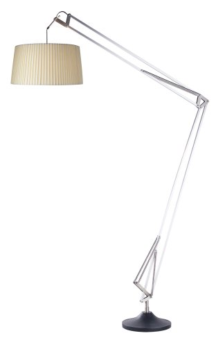 Adesso Jumbo Architect Floor Lamp, Steel