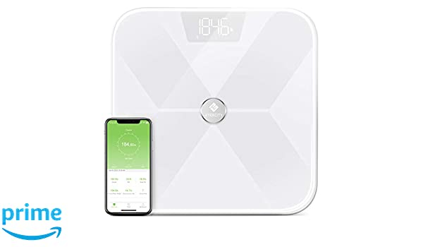 Amazon.com: Etekcity Smart Bluetooth Body Fat Scale, Digital Weight Bathroom Scale with 13 Essential Measurements and ITO Conductive Glass, FDA Approved ...