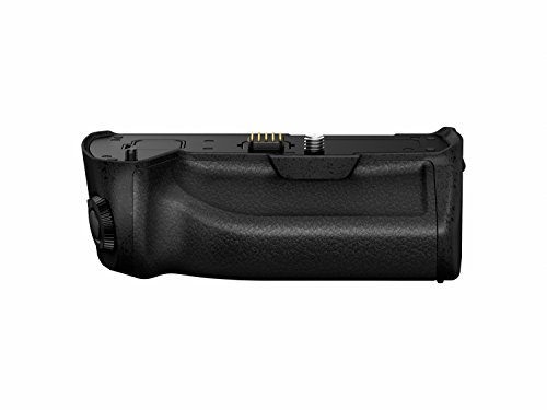 Panasonic LUMIX Battery Grip, Black (DMW-BGG1) by Panasonic