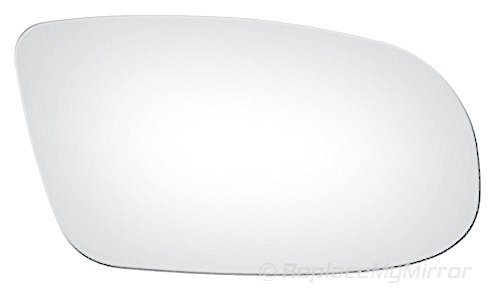 ReplaceMyMirror - 1995-1996 CADILLAC FLEETWOOD BROUGHAM (RWD) Convex, Passenger Side Mirror Glass (Convex)