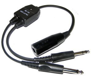 Pilot USA PA 88 Military To Dual GA Impedance Adapter