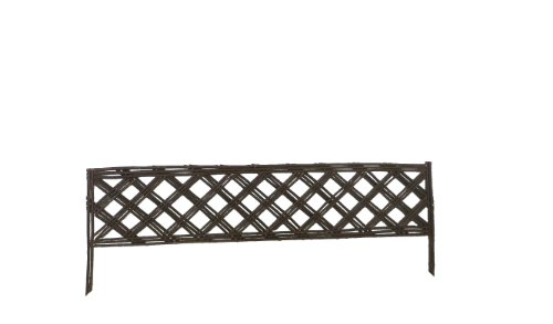 Master Garden Products Lattice Style Willow Edging, 16 by (Willow Edging)
