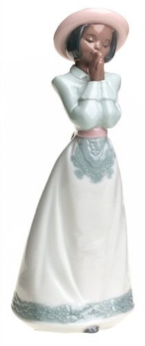 - NAO Sunday Best Porcelain Figurine