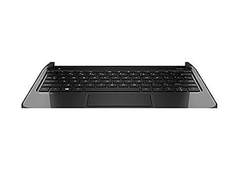 HP 741981-B31 Carcasa inferior con teclado refacción para ...