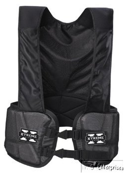(Bike football Xtreme lite hard shell rib pad protection guard vest NEW BARV50T L)