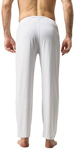 ZSHOW Hombres de largo Knit salón dormir pantalones de yoga pantalones de pijama