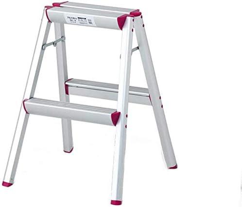 YZjk Taburete, Escalera Plegable para el hogar de aleación de Aluminio Escalera Interior para Taburete (tamaño: # 2): Amazon.es: Hogar