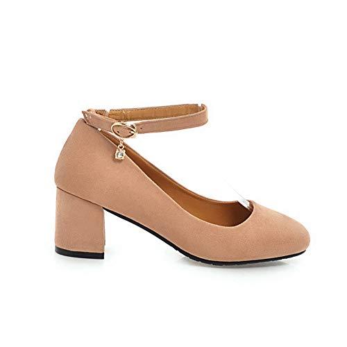 AdeeSu Rose Rose Femme SDC05562 5 36 Sandales Compensées Uw7qZzU