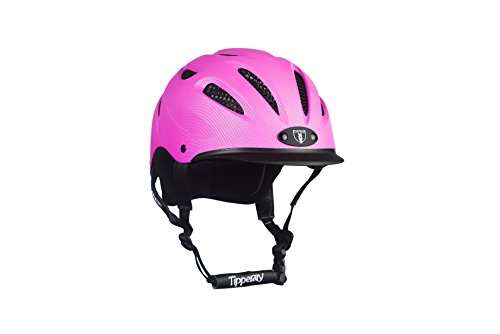 - Tipperary Sportage 8500 Riding Helmet LG Pink
