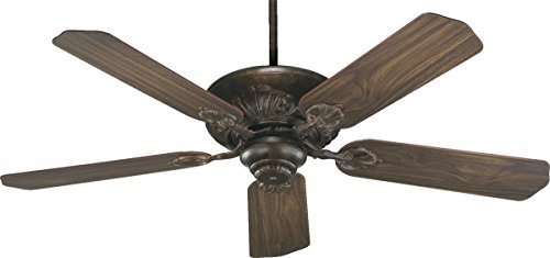 78525-88 Chateaux 5-Blade Energy Star Ceiling Fan with Reversible Blades, 52-Inch, Corsican Gold ()