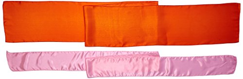 Koyal Wholesale Linens Party Kit, Orange Table Runner and 10-Pack Satin Chair Bow Sash in (Halloween Kid Party Ideas Pinterest)