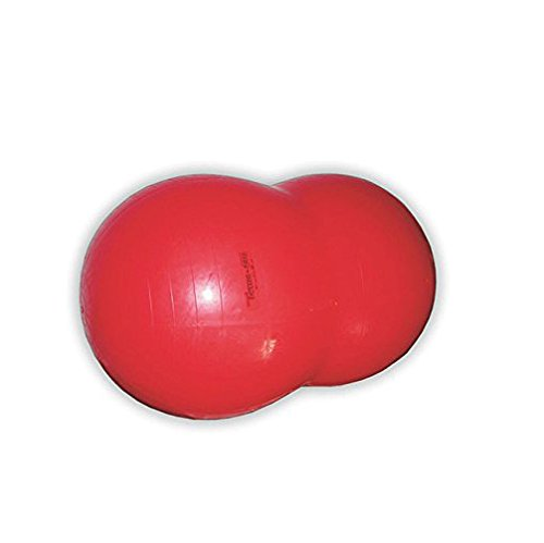 Gymnic Physio Roll Exercise Ball - Red by Gymnic (Image #2)