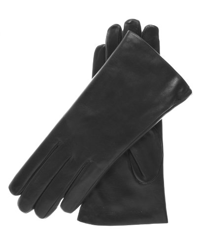 Fratelli Orsini Women's Italian Rabbit Fur Gloves Size 7 Color Black by Fratelli Orsini
