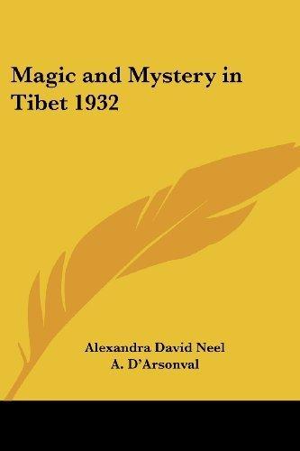 Alexandra David Neel [Pdf/ePub] eBook