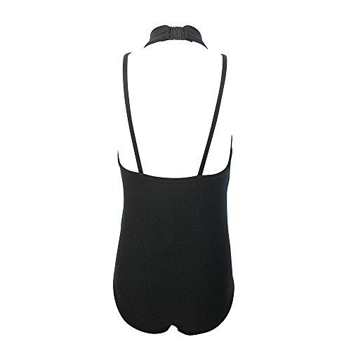 Nylon Tank Leotard (HDW DANCE Girls Ballet Lace Tank Leotard Bodysuit Sleeveless Nylon and Spandex( Black Small))
