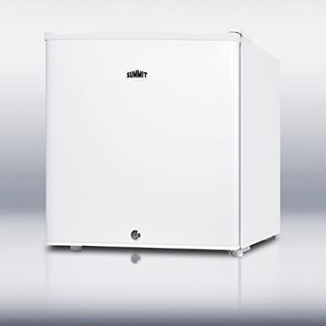 FS21L 19 Accucold Medical Upright Freezer With 1 4 Cu Ft Capacity Factory Installed Lock One Piece Interior Liner Removable Shelf And Adjustable Thermostat In White