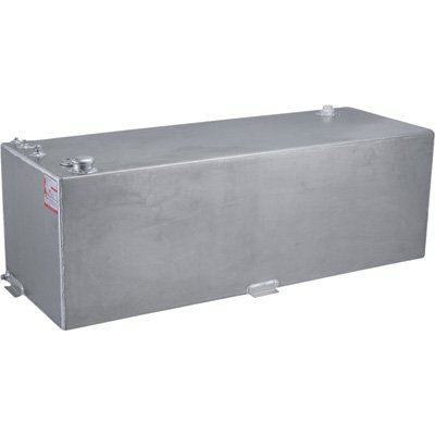 RDS Rectangular Auxiliary Transfer Fuel Tank - 80 Gallon, Smooth, Model# 71792 (Auxiliary Pickup Tank Truck Fuel)