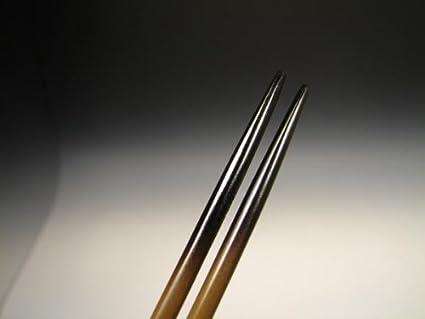 【茶道具/煎茶道具/香道具/茶箱】 唐銅製 細火箸 日本製