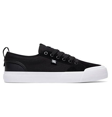 Evan BLACK Shoe Men's BLACK DC WHITE Skate TX Smith 5xzH00qwO