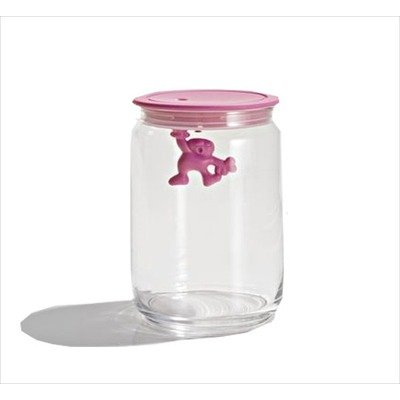 Gianni Storage Jar with Lid by Mattia Di Rosa Size: Large, Color: ()