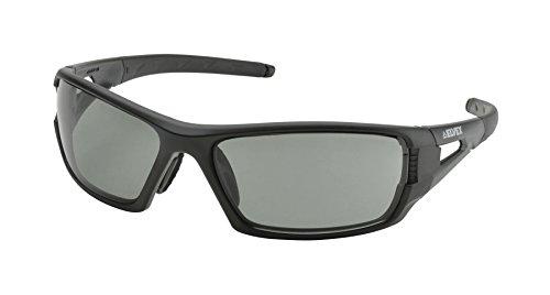 (Elvex WELSG61GAF Rimfire Tactical Sunglass Style Ballistic Eyewear in Grey with Supercoat Anti-Fog Lens, 2