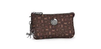 Amazon.com: Kipling Creativity L Monkey Mania Brown Wallet ...
