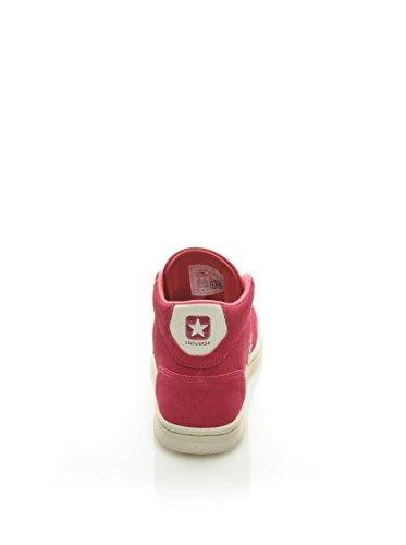 Donna Converse Pro Leather Mid da Suede Fucsia Rosa LP Ginnastica Scarpe Z8ZrwUqx