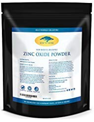 (16 oz) Zinc Oxide Powder with RECIPE EBOOK - Non Nano, Uncoated, Pharmaceutical Grade and Lead Free - Use to Make Ointments,...