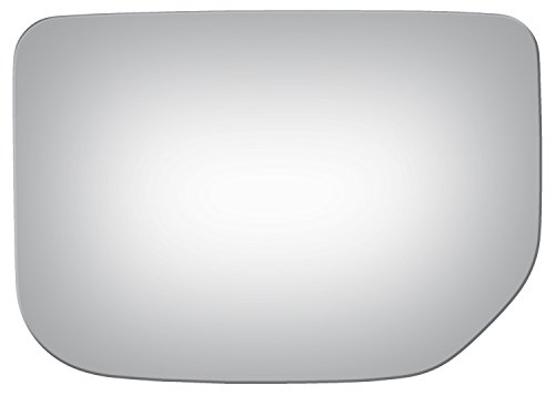Burco 4131 Flat Driver Side Replacement Mirror Glass for 07-14 Toyota FJ Cruiser (2007, 2008, 2009, 2010, 2011, 2012, 2013, 2014)