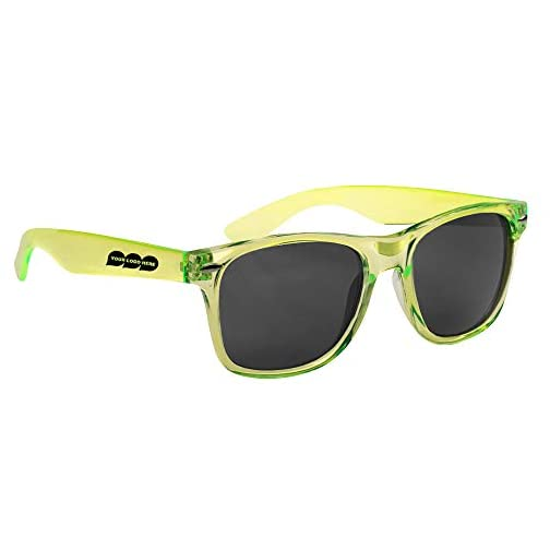 Malibu Sunglasses - 100 Quantity - $3.57 Each - Promotional Product/Bulk with Your Logo/Customized. |