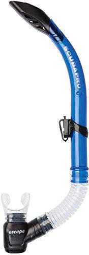 ScubaPro Escape Snorkel-Blue (Scubapro Mouthpiece)