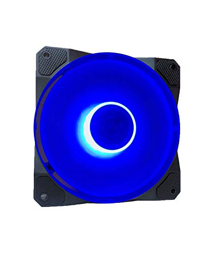 Ventilador APEVIA CO12L-BL Cosmos 120mm Blue LED Ultra Silen
