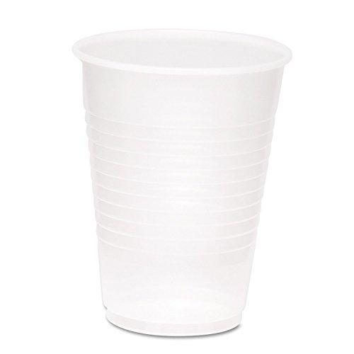 Boardwalk YP1214C Clear Plastic PETE Cups, 12/14oz (Case of 500)