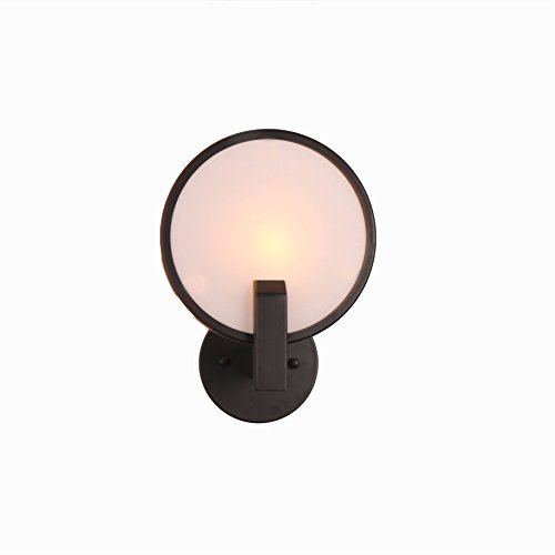 Meetuland Rustic Candle Wall Sconce 1 Llight Wall Mount Llight Fixture Wall Lamps Bedroom Cool Wall Lights Industrial Kitchen Wall Lighting … (Black)