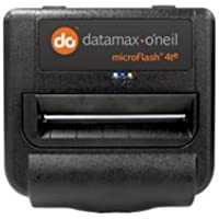 Datamax 200362-100 MF4TE Model Mobile Printer with 2 Batteries, Paper, Cleaning Card, User Manual, 4 Direct Thermal, Swivel Belt Ready, Bluetooth, Serial/USB, E-Charge