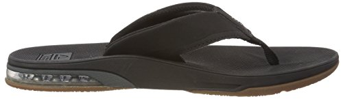 Reef Men's, Fanning Low Thong Sandal Black
