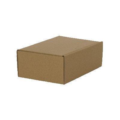 100 Caja Plegable 160 x 110 x 60mm, embalaje ENVÍO Caja de cartón ondulado cartón