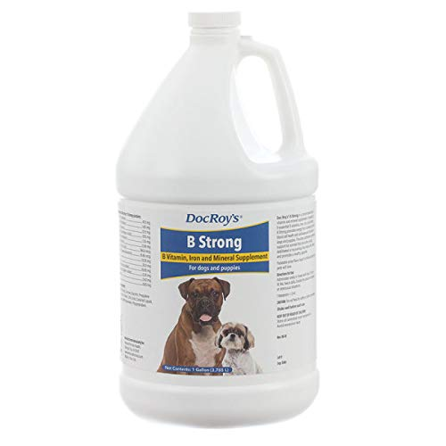 (Revival Animal Health Doc Roy's B Strong - Gallon Vitamin and Mineral Support for Dogs and Puppies )