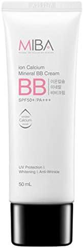 [MiBA] Mineral Bio Ion Calcium Mineral BB Cream SPF 50+/PA+++ 50ml UV Protection & Whitening & Anti-Wrinkle