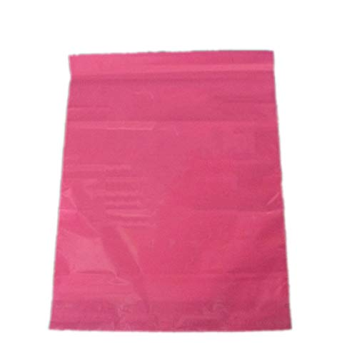 Pink Color Plastic Mailing Bags Printed Poly Mailer Shipping Courier Bag Shopping Bags ()