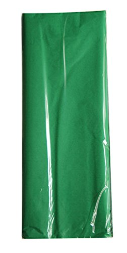 7 Mountains Brands 100 x The Perfect Gift Wrap Tissue Paper. Acid Free! 20x30 Inch - 100 Sheet Value Pack- (Dark Green) by 7 Mountains Brands