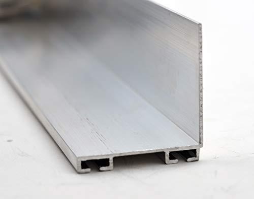- Garage Door Weather Seal Retainer - L Shape, Size: 1-3/4