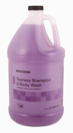 MCK90031800 - Mckesson Brand Tearless Shampoo and Body Wash McKesson 1 gal. Jug Lavender Scent ()