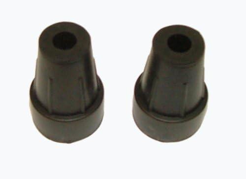 und Wanderst/öcke 9 mm 1 Paar Gummistopfen f/ür Jagd