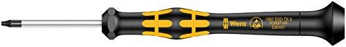 Wera 05030401001 TX5x40mm Kraftform 1567 Micro Torx Driver with Holding Function