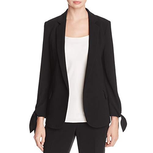 rk Womens Bria Crepe Tailored Jacket Black 4 ()